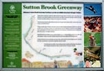 Sutton Brook sign