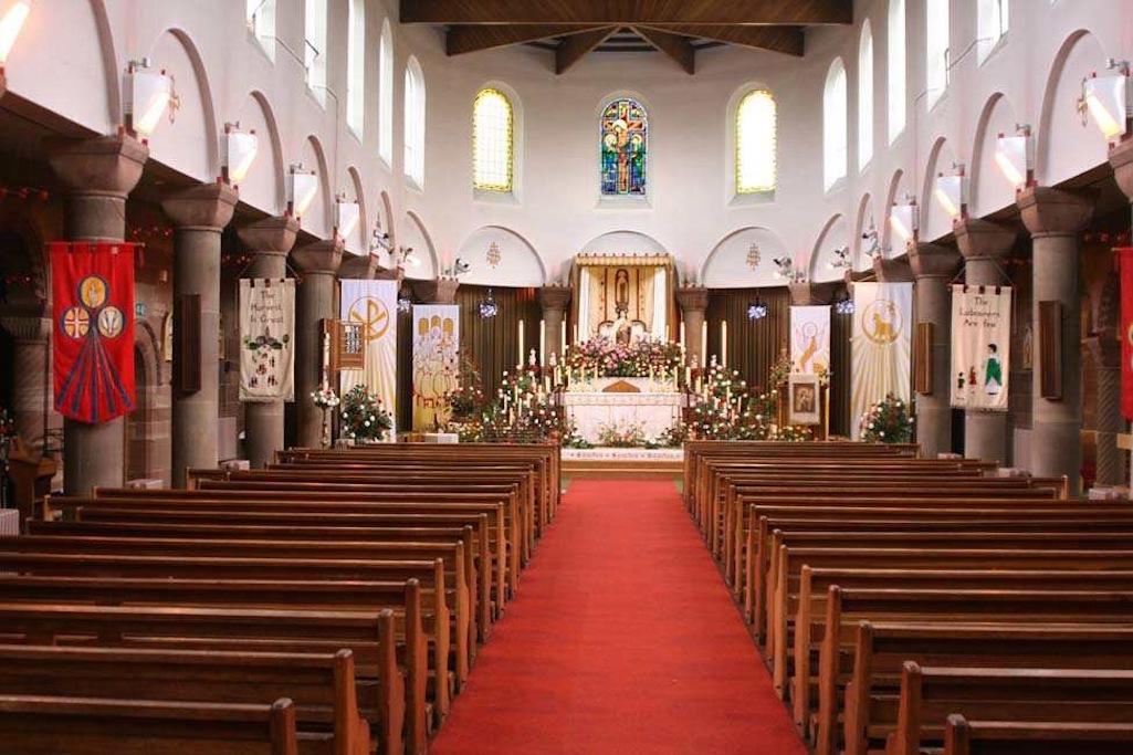 Inside St.Theresa Church, Gartons Lane, St.Helens