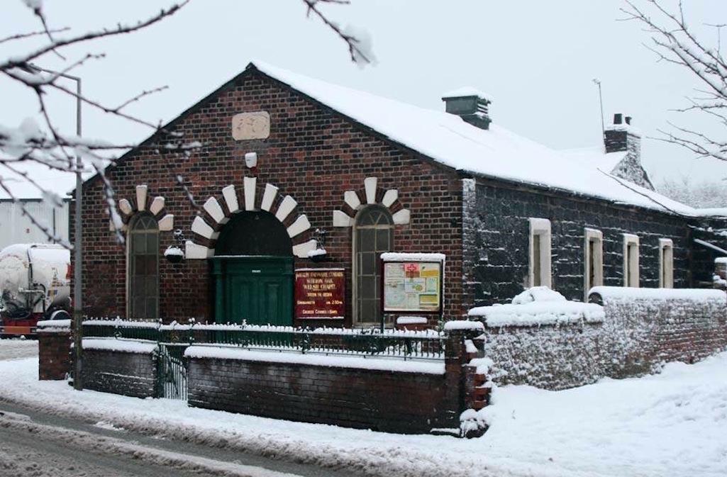 The Sutton Oak Welsh chapel in Sutton, St Helens