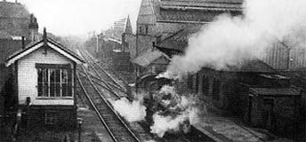 Farnworth and Bold station
