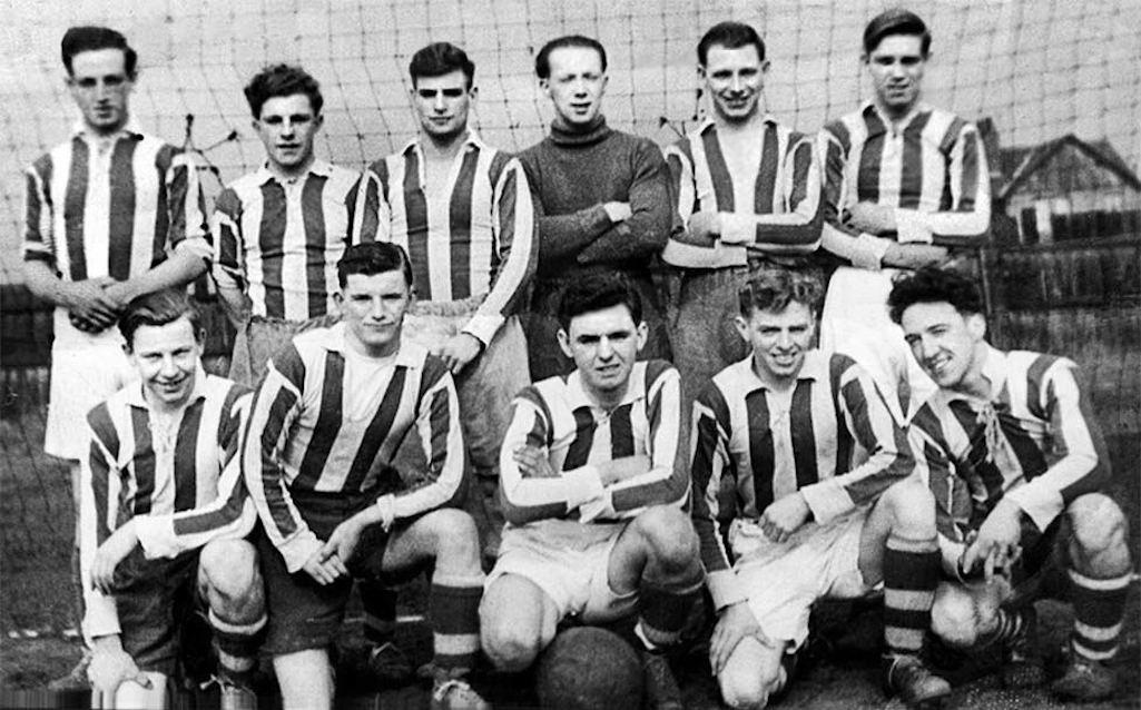 Clock Face Colliery Football Club of 1949