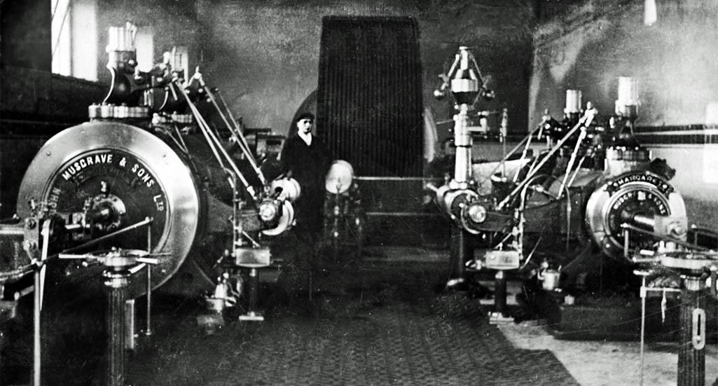 Clock Face Colliery Pump House