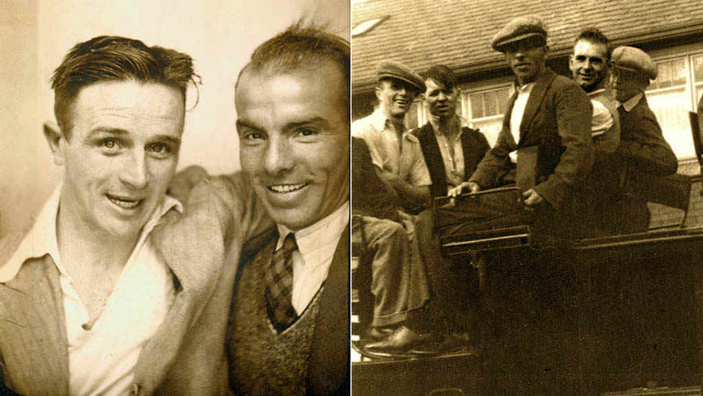 Clock Face Colliery pitmen John Quinn and David Mercer