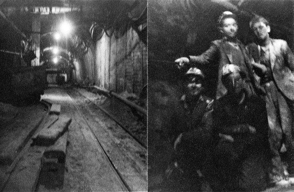 Underground Clock Face Colliery