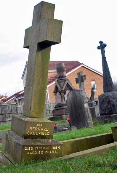 Sir Bernard Caulfield's Grave in St. Annes Cemetery