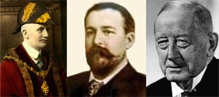 Henry Baker Bates, Frederick Dixon-Nuttall & Samuel Brighouse