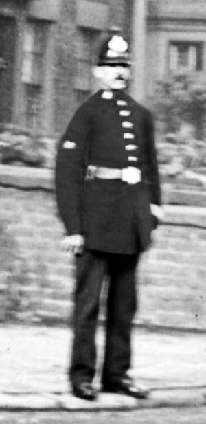 Policeman in Sutton, St.Helens