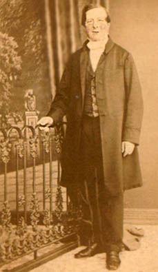 Rev. HEFV Vallancey - first vicar of Sutton Church (St.Nicholas), St.Helens