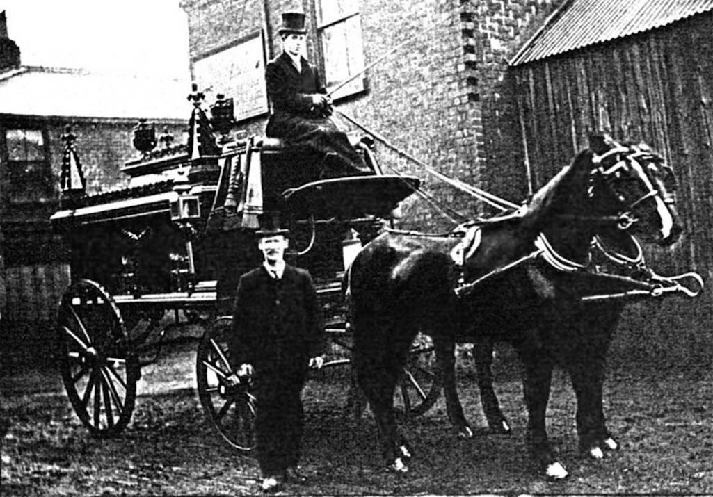 Undertaker and blacksmith Isaac Ashton of 21 Fisher Street, Sutton, St.Helens