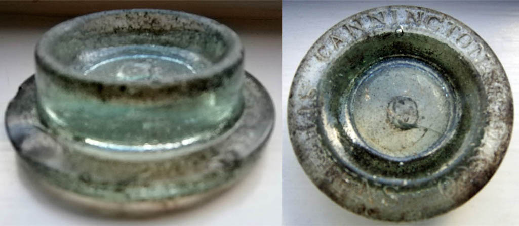 Cannington Shaw Jar Lid