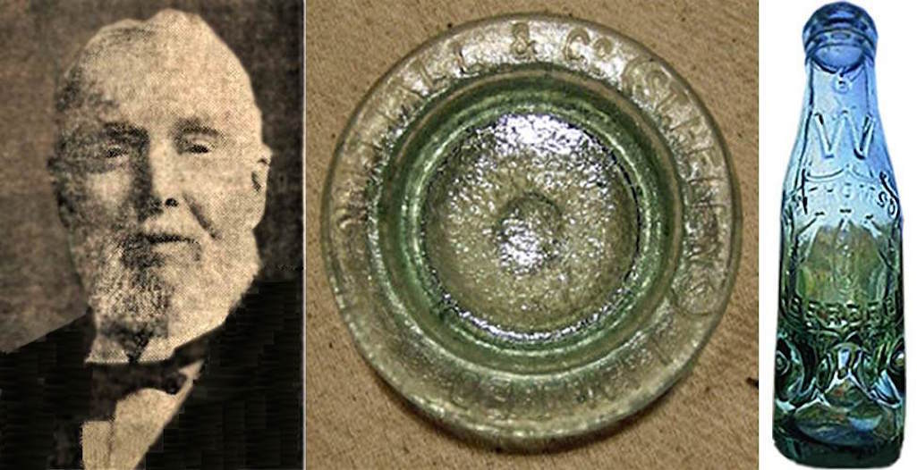 Francis Dixon-Nuttall and Nuttall's glass jar lid