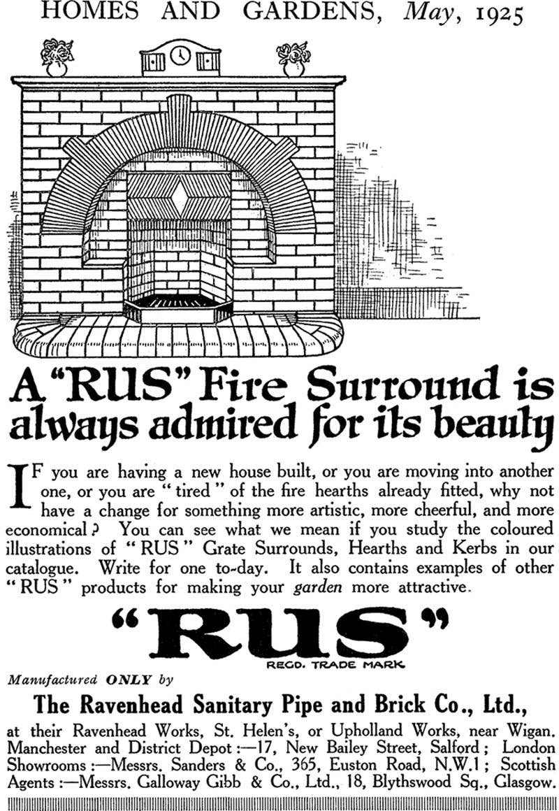 Advert In Homes And Gardens