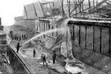 Explosion at Kurtz Alkali works, St.Helens 1899
