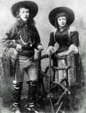 Texas Bill Shufflebottom and wife Rosina