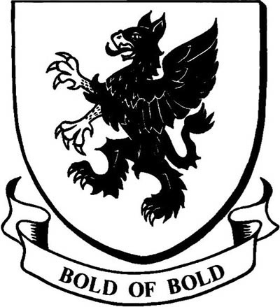 Bold of Bold coat of arms