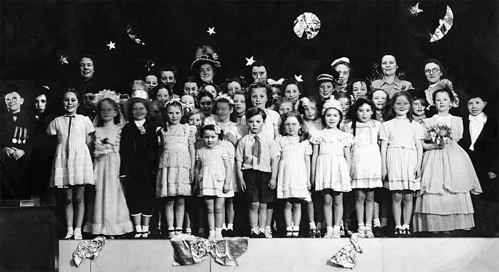 All Saints Sunday School play at Sutton National school c.1952