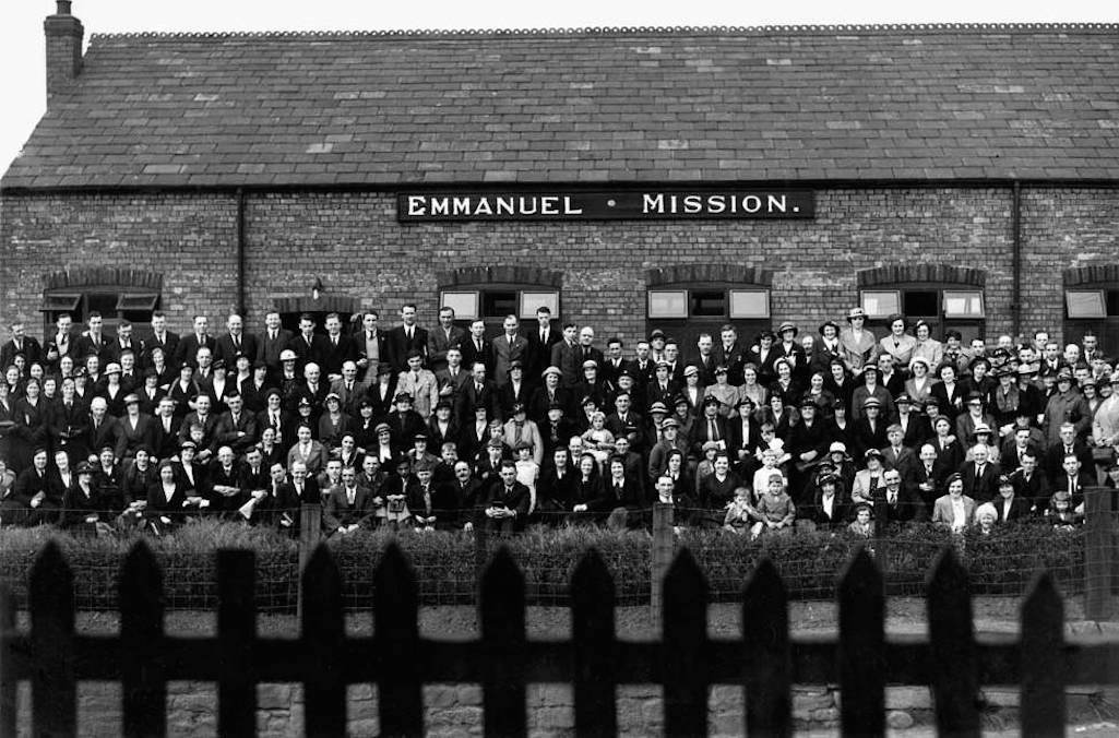 Emmanuel Mission in Helena Road Sutton, St.Helens c.1938