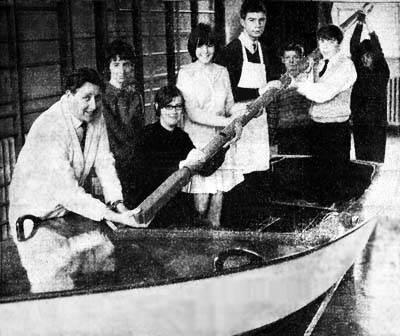 Robins Lane boat