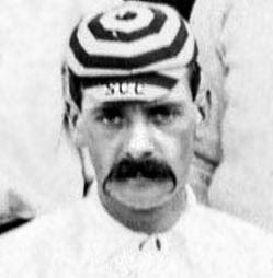 Unknown Sutton Cricket Club player c.1898