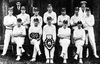 Sutton Manor Cricket Team c.1935