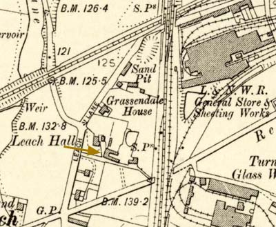 Leach Hall map