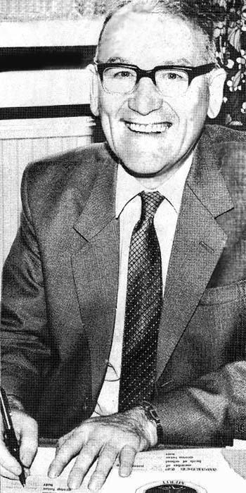 Sutton High headmaster William Rosser