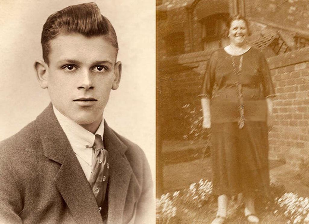 Arthur Normington and Nanny Morris