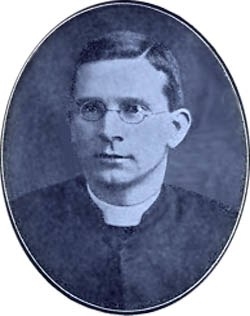 Father Ralph Holden, St.Theresa's, Sutton Manor