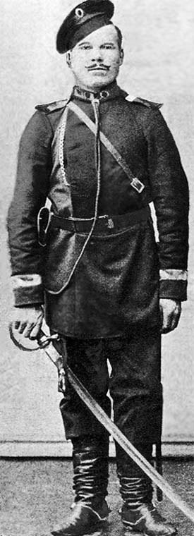 Cossack Peter Spakauskas 'Grandad Spak' c.1889