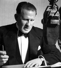 BBC announcer Stuart Hibberd