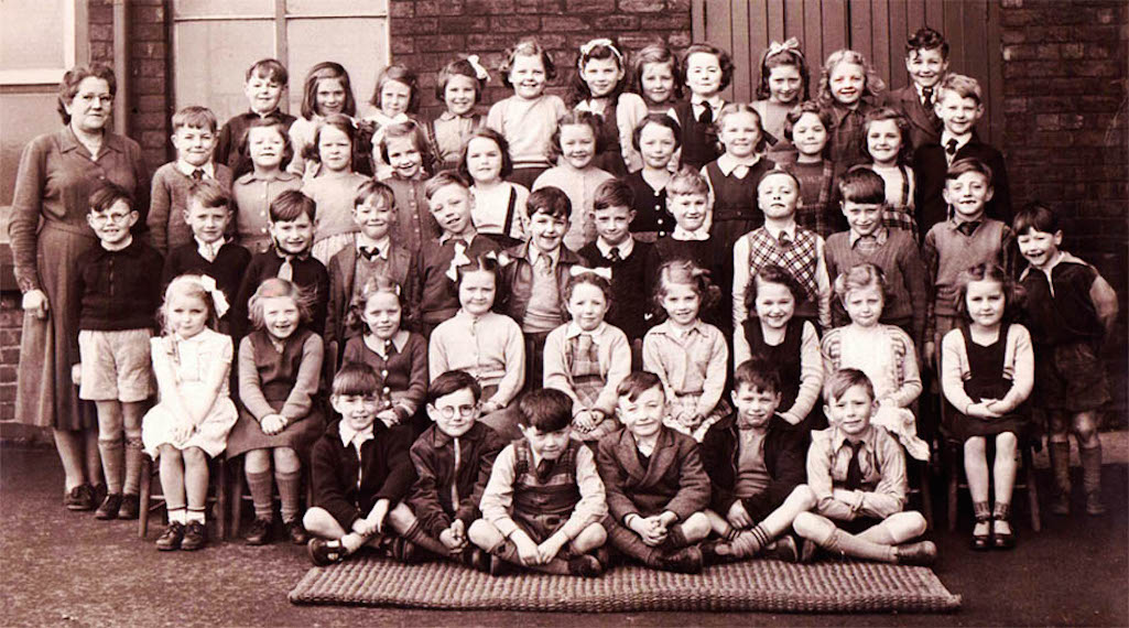 Sutton Nash Infants 1953/4 Sutton, St.Helens