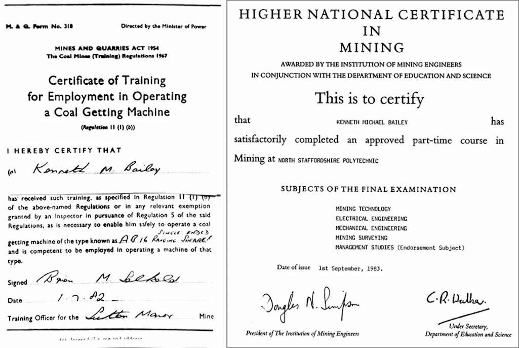 """""""Certificates"""""""