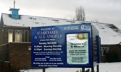 St.Michaels Church, Sutton, St.Helens