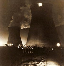 Bold Power Station at night