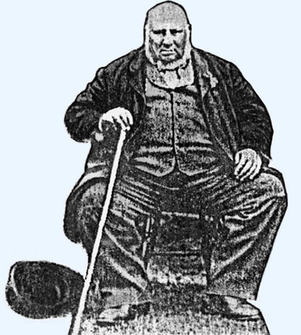 John Bally Whittaker (1824 - 1894) builder and landlord of the Oak Tree Inn