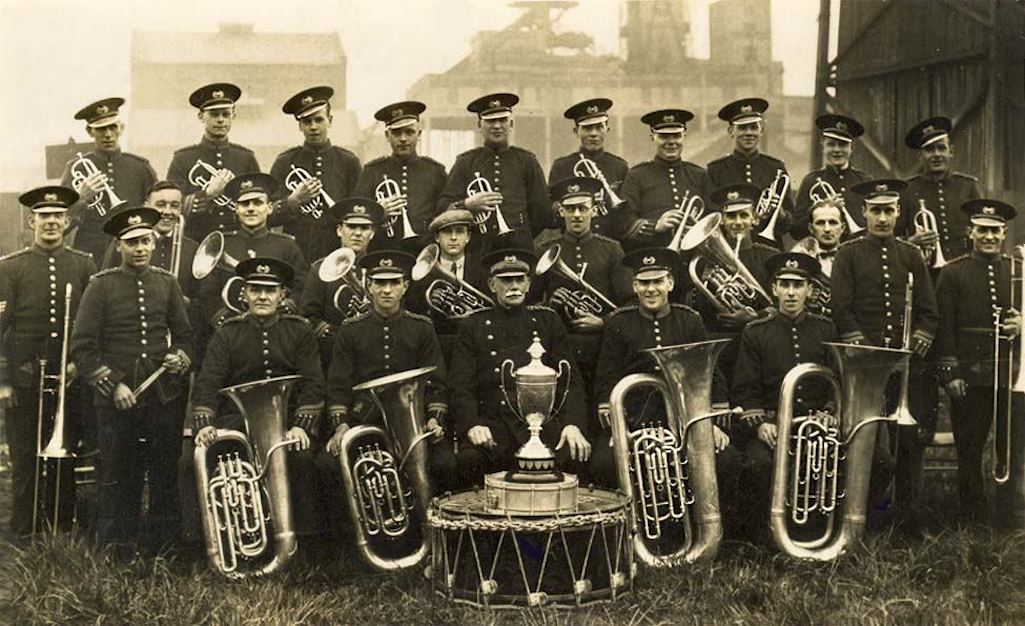 Sutton Manor Colliery Institute Prize Band