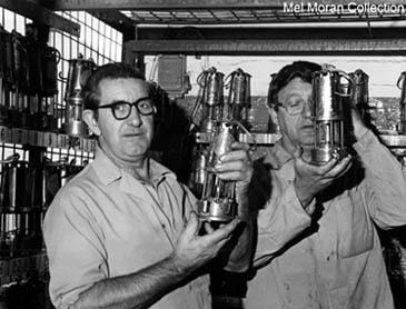 Bob Mellor and Alf Houghton