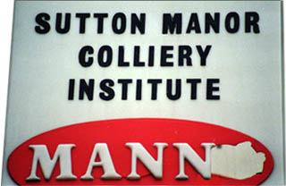 Sutton Manor Institute sign