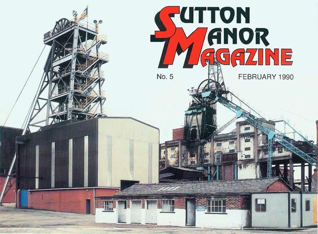 Sutton Manor Colliery, St.Helens in British Coal's in-house magazine Sutton Manor Magazine