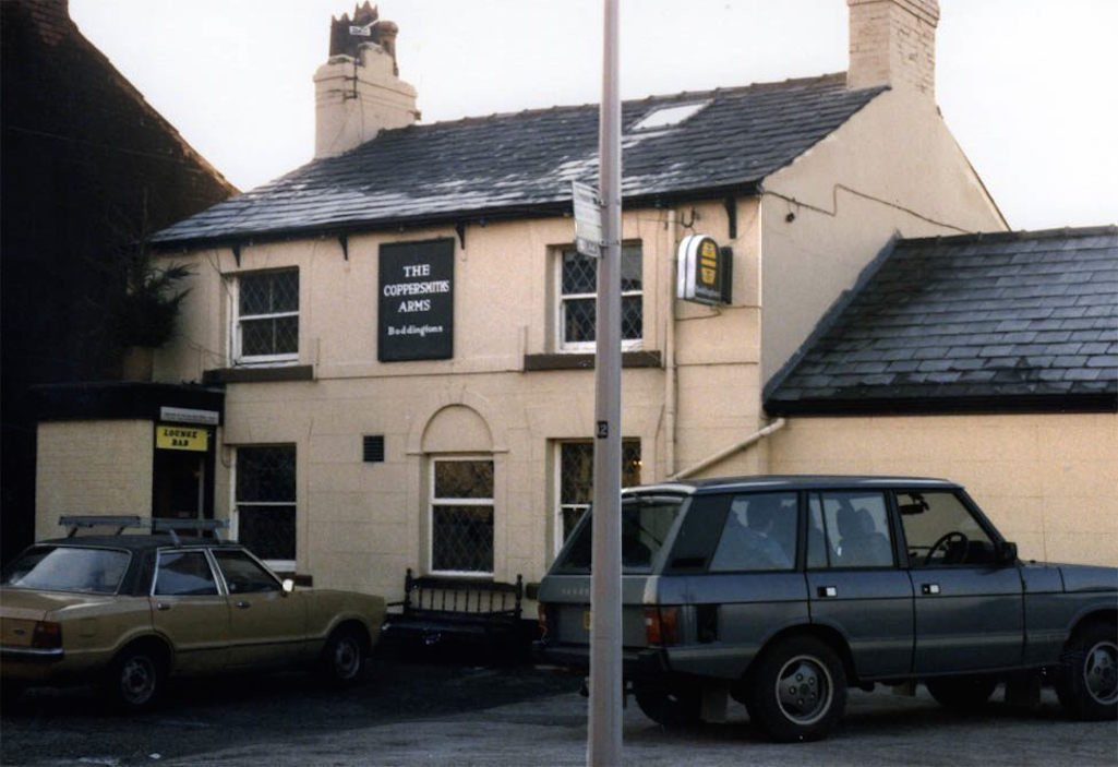 The Coppersmiths in Watery Lane, Sutton, St.Helens pictured in 1984