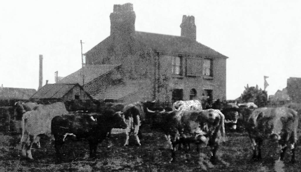 The Engine and Tender pub which was also a farm house in Sutton, St.Helens