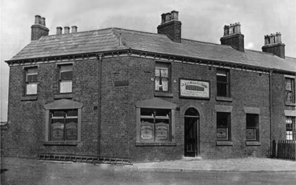 The Glassmakers Arms, Sutton, St.Helens 1900