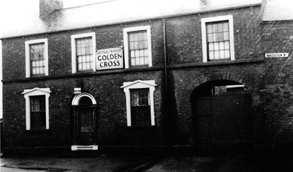 Golden Cross pub, Pudding Bag, Sutton, St.Helens