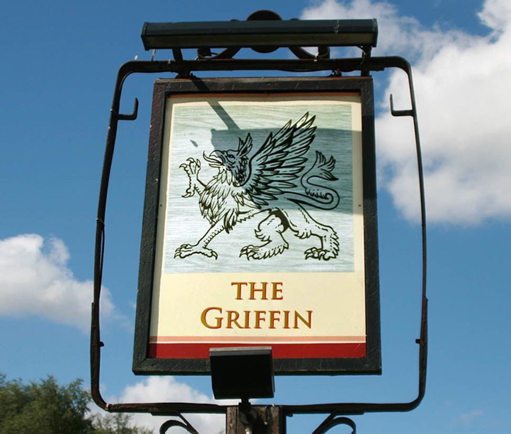 Griffin Inn in Warrington Road, Bold Heath