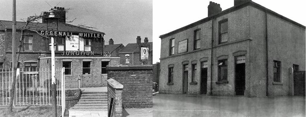 The Junction Inn in Junction Lane, Sutton, St.Helens c.1960