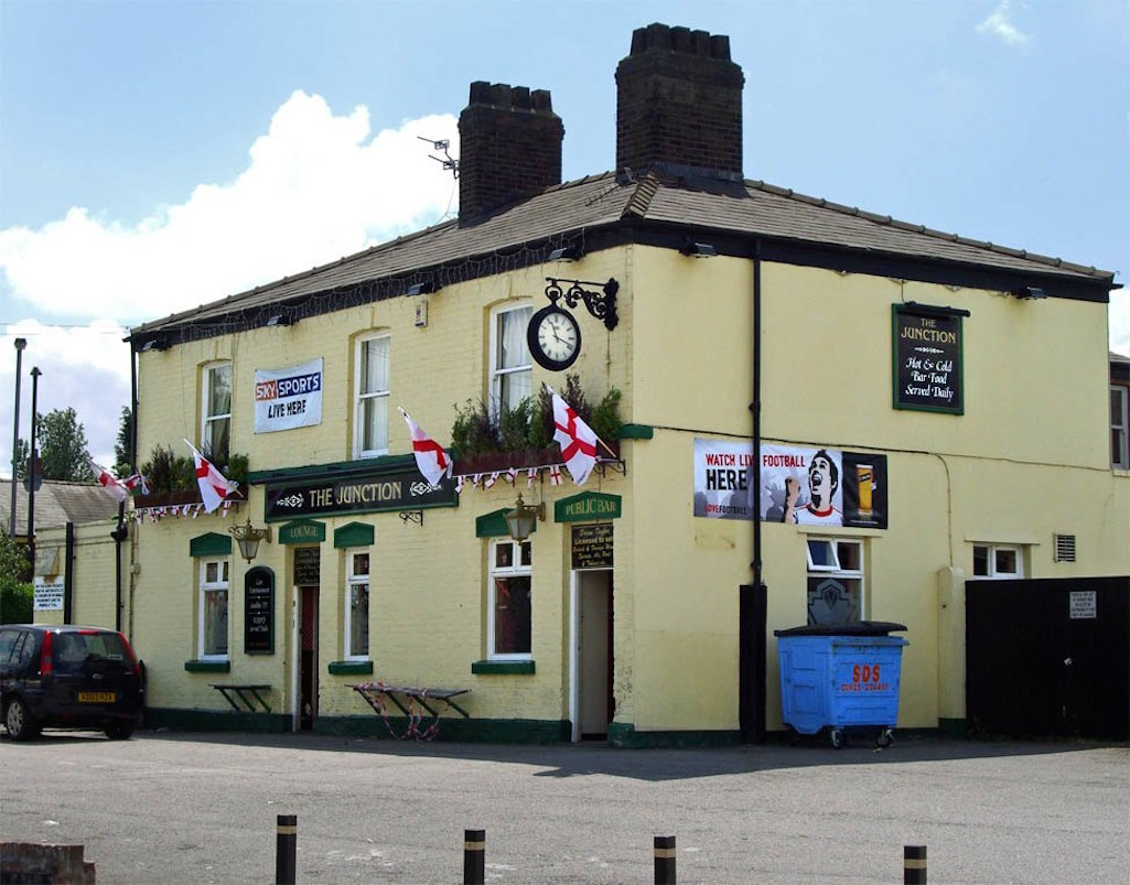 Junction Inn St.Helens during the 2006 football World Cup