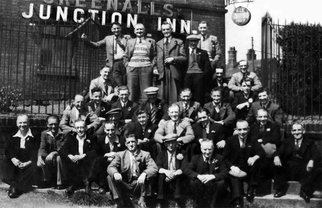 Junction Inn St.Helens group photo