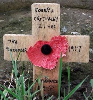 Rifleman Joseph Critchley