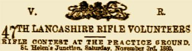47th Lancashire Rifle Volunteers
