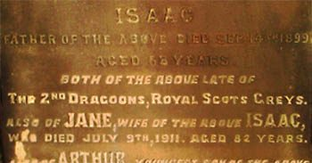 Isaac and Robert Wilson, 2nd Dragoons, Royal Scots Greys